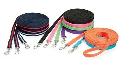 Shires Wessex Soft Feel Lunge Line 8m (26') long ALL COLOURS Long Training Lead