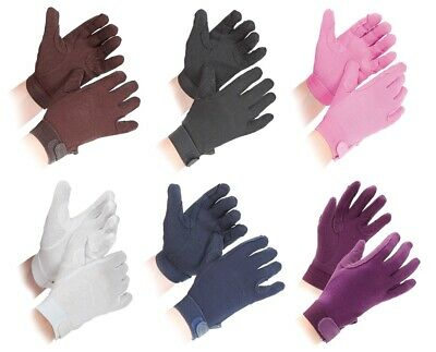 Shires Newbury Pimple Grip CHILDS Horse Riding Gloves ALL SIZES 7 COLOURS