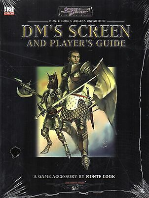 SWORD & SORCERY-Monte Cook's Arcana Unearthed Player's Guide-DM`S SCREEN-rare