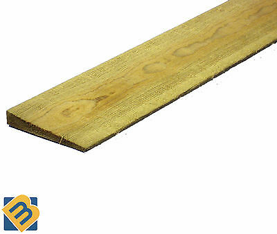Feather Edge Boards 4x1 5x1 6x1 - Fence Panels Cladding - Treated Timber Fencing