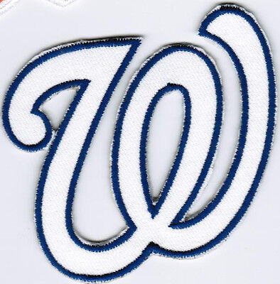 MLB Washington Nationals Cap Major League Baseball Iron On Embroidered Patch