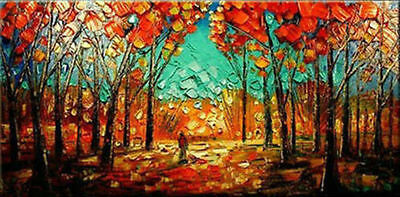 MODERN ABSTRACT HUGE WALL DECORATE CANVAS ART OIL PAINTING (no framed)