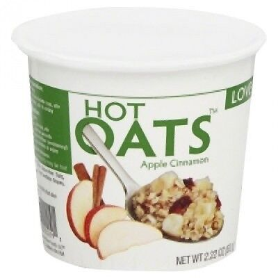 Love Grown Foods Hot Oats Apple Cinnamon -- 70ml. Free Delivery