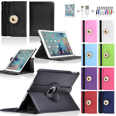 """360°Rotating Smart Wake Up Flip Leather Case Cover For Apple iPad Pro 9.7"""""""