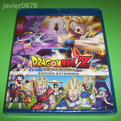 Dragon Ball Z Battle Of Gods Edicion Extendida Blu-Ray Nuevo Y Precintado