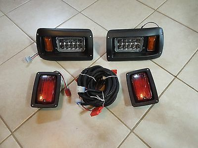 Led Club Car Ds Golf Cart Headlights & Tail Light Packages
