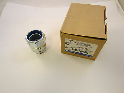 """Lot Of 5 Thomas And Betts T&b 5335 1 1/4"""" Sealtite Connector Liquidtight"""