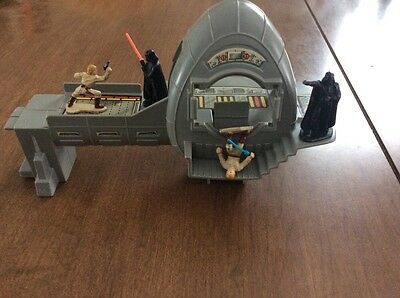 Star Wars Micro Collection Bespin Control Room Kenner 1982 Incomplete