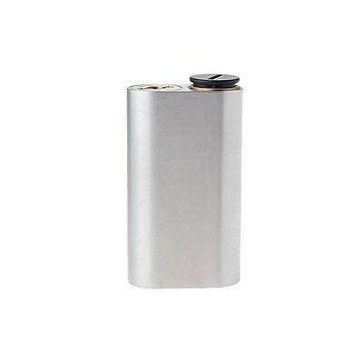 Wismec Noisy Cricket 2x 18650 Mechanical Mod Silver Brushed Vaping Cloud Chasing