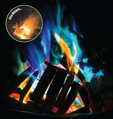 Mystical Fire Campfire Colour Changing Flames Camping - Three Packets