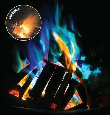 Mystical Fire Campfire Colour Changing Flames Camping - 5 Packets