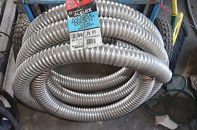 """ALFLEX 2"""" in. x 25 ft. Flexible Aluminum reduced wall Conduit New! FIRE TESTED"""