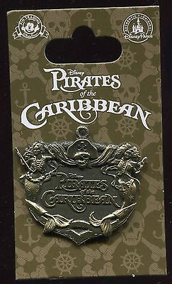 Pirates of the Caribbean Anchor Disney Pin 108728