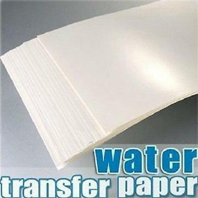 (20pcs)A4 Inkjet Water Slide Decal Paper Craft