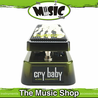 Dunlop KH95 Kirk Hammett Signature Crybaby Wah Pedal - GKH95 Cry Baby Metallica