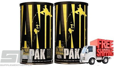 2X Animal Pak Universal Nutrition Twin Pack - Multi Vitamin Mineral Health
