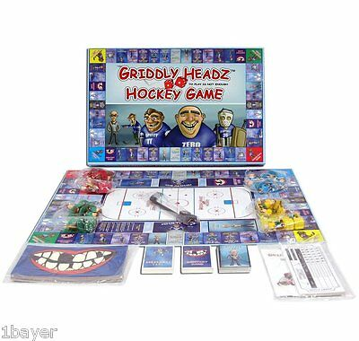 @NEW Griddly Games Headz Hockey Family Birthday Party Christmas Strategy Game