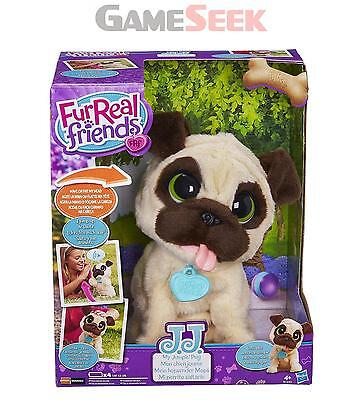 Furreal Friends Jj My Jumping Pug Pet Toy - Soft Toys Plush Brand New