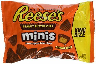 Reese's Peanut Butter Cups Minis (70g) Free UK Delivery