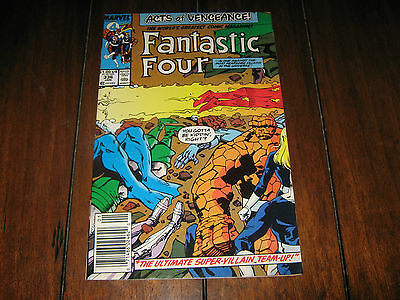 Fantastic Four # 336 (1989) VF - Marvel - Acts Of Vengeance -