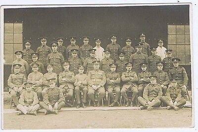 Soldiers of the Officer Training Corps RP Postcard c1920