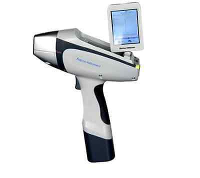 New Hand Held Xrf Spectrometer, Alloy Element Analyzer Ore Gold Soil Cement Lead