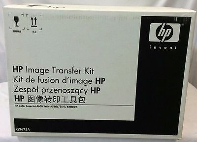NEW ! Genuine HP Color Laserjet 4600 4650 4610 Printer Transfer Kit Q3675A