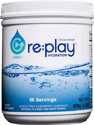 Re:Play Hydration Raspberry Lemonade  by Hydration Health Products