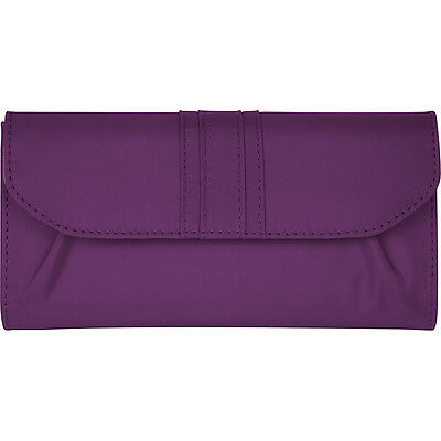 Travelon Signature Pleated Envelope Style Wallet Travel Wallet NEW