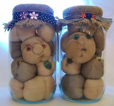 WORRIED PICKLED BUMS * Funny Unique Adult Handmade Gift * Mens Womens Present