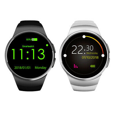 KW18 Waterproof Bluetooth Smart Watch Sim Phone Mate For Android iPhone Samsung
