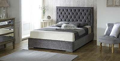 Chelsea Upholstered Bed Frame storage 3' Single 4'6 Double 5' King size