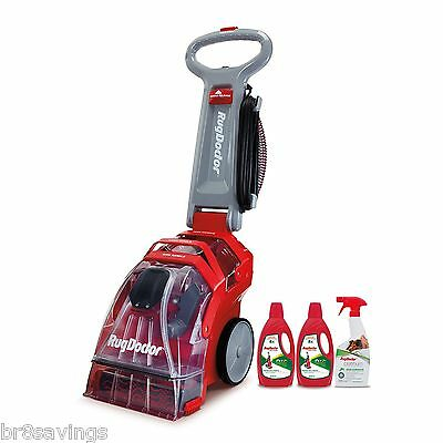 NEW & SEALED! Rug Doctor Deep Carpet Cleaner with Dual Cross Action Brushes