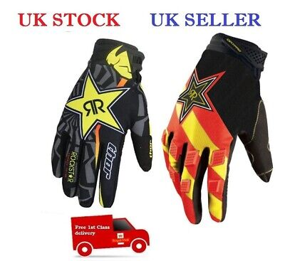 Thor Rockstar Ktm Fox Gloves For Cyclying Motor Bike Fishing, Outdoor Activities
