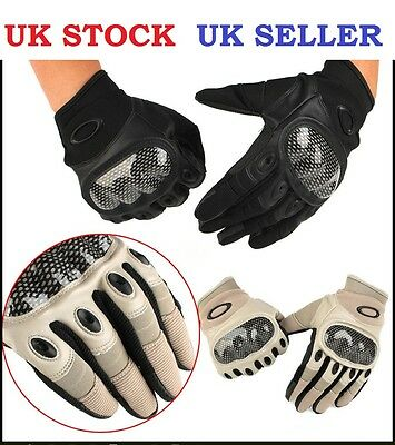 Military Assault Motorcycle Bike Gloves Airsoft Combat Tactical, Oakley SI Style