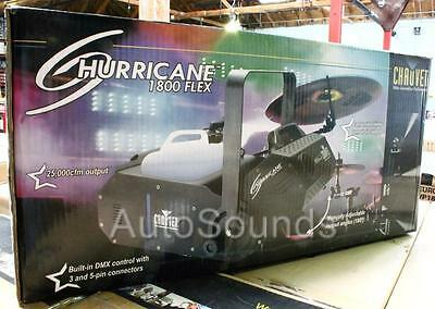 Brand New Chauvet HURRICANE 1800 FLEX Pro DJ Club Fog Smoke Machine 25,000 CFM