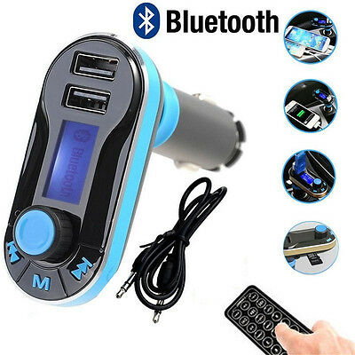 Bluetooth Car Charger MP3 Player FM Transmitter for iPhone6 /6Plus Samsung hotaa