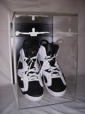 Wall Mountable Shoe Display Air Jordan Wings Jumpman Nike Concord 11 Xi Cement