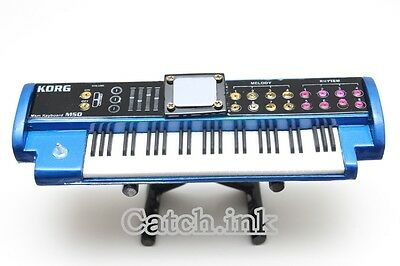 Korg M50 Blue Music Workstation Synthesizer Keyboard Miniature for Display Only