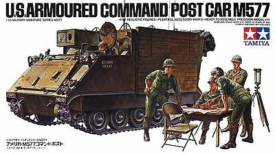 Tamiya 35071 1/35 Scale Military Model Kit U.S Armoured Command Post Car M577
