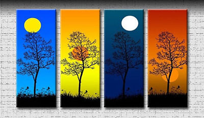Modern Abstract hand-paint Art Oil Painting Wall Decor canvas (NO FRAME)