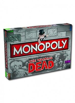 The Walking Dead TV Series Monopoly Family Fun Board Game