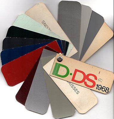 Citroen ID & DS 1967-68 Exterior Colour Swatch
