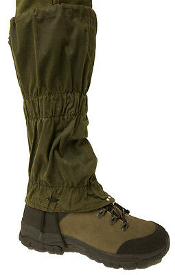 Bisley Waxed Walking Hiking Shooting Hunting Outdoor Gaiters