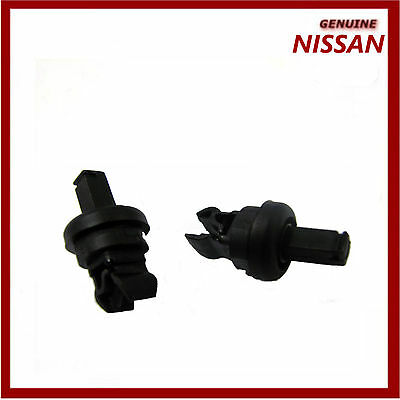 Genuine Nissan Qashqai Rear Parcel Shelf String Hanger Clips x2. 79916JD00A New