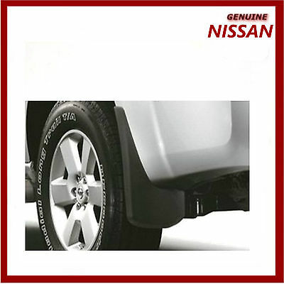 Genuine Nissan Pathfinder Mud Flaps Guards Mudguards Rear  999J2XU00004
