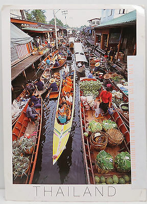 Postcard Thailand  - Red Return Hand Cancel - Section XXX - Postkarte (Lot A3424