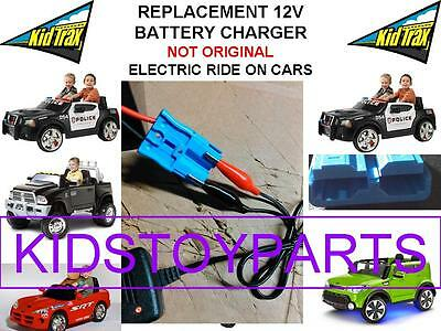 12V Charger Kid Trax Dodge Ram Charger Police Mercedes Mini Cooper Jeep VW Bug