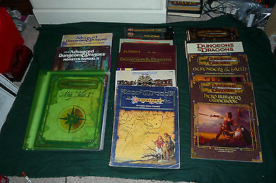 Huge Dungeons & Dragons 14 Book Lot Amazing Lot All Different Hard & Soft Cover