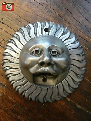 A Beer Buddies, Silver Finish Sun Wall Mounted Bottle Opener, Stunning!